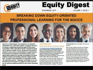 Breaking Down Equity-Oriented Professional Learning for the Novice