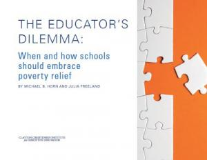 The Educators Dilemma When And How >> The Educator S Dilemma When And How Schools Should Embrace Poverty