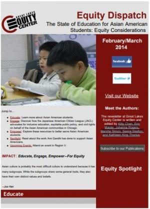 The State of Education for Asian American Students: Equity Considerations