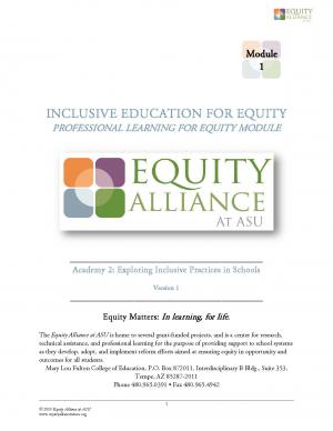 Inclusive Education for Equity Academy 2 - Exploring Inclulsive Practices in Schools (PHs)