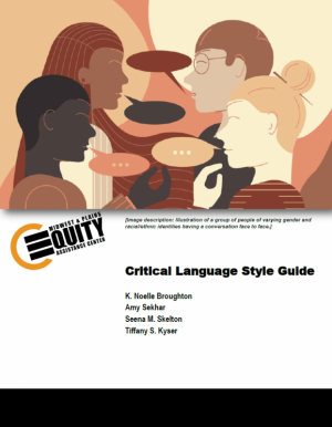 Critical Language Style Guide