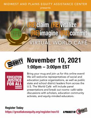 Virtual World Café flyer
