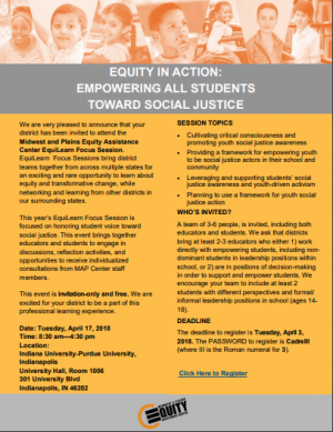 Equity in Action: Empowering Students Toward Social Justice