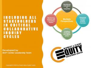 Including All Stakeholders in Critical Collaborative Inquiry Cycles