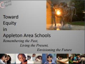 Towards Equity in Appleton Area Schools